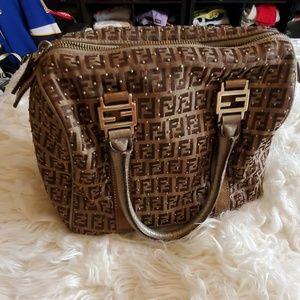 Authentic Fendi Boston Bag purse *NEW LISTING